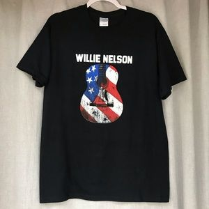 Willie Nelson Guitar Tee